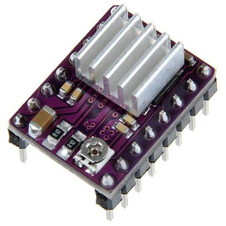 Stepper Driver with Heatsink
